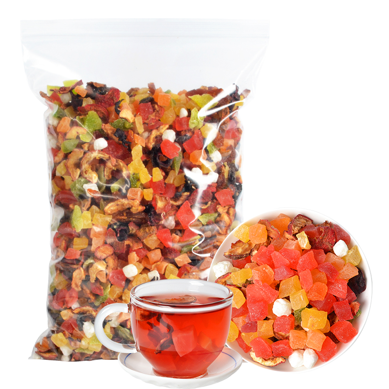 Multiple Natural Blended Fruit Tea with Dried Flowers and Fruits Chinese Dried Fruit Delicious Tea - 4uTea | 4uTea.com