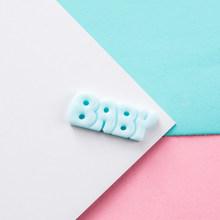 20 шт красочные милые резиновые английские буквенные Детские брелки, аксессуары для ключей, креативный кулон для самостоятельного изготовл...(Китай)