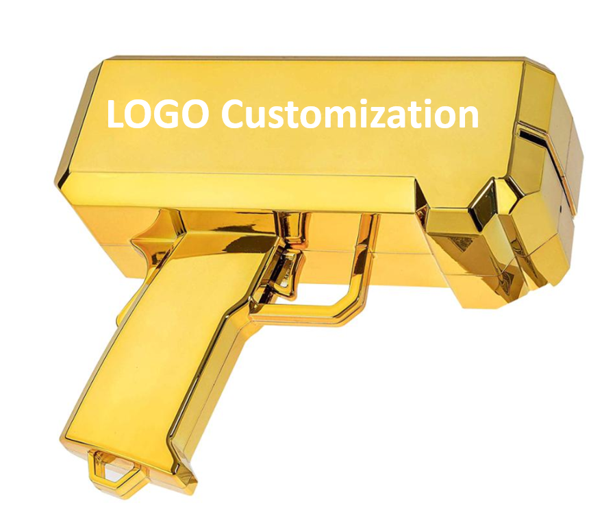 OEM/ODM Newest High Quality Gold Fashion Toy Cash Money <strong>Gun</strong>