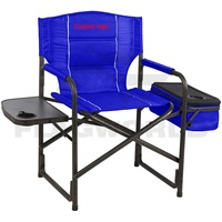 Custom Made High Quality Folding Leisure Beach Deck Chair with Cooler Bag and Side Table