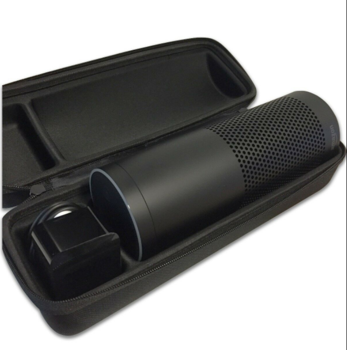 Portable Speaker EVA <strong>Hard</strong> <strong>Case</strong> Fits Charging Cradle, AC Adaptor and USB Cable