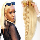 Paypal Accept PayPal Accept 10A 12A 613 Virgin Brazilian Human Hair Extension For Woman Wholesale Shiny Cuticle Aligned Hair Bundles Vendors