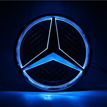 China Factory Custom 3D ABS Auto Logo Licht LED