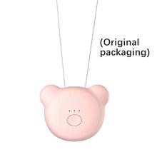 Мини очиститель воздуха ожерелье персональный носимый Освежитель Воздуха Ионизатор отрицательных ионов генератор портативный освежитель...(Китай)