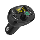 FM Transmitter Hands Free Wireless Blue tooth Music Car Mp3