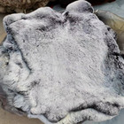 Rabbit Fur Factory Wholesale Raw Or Dyed Color Big And Soft Real Rex Rabbit Fur