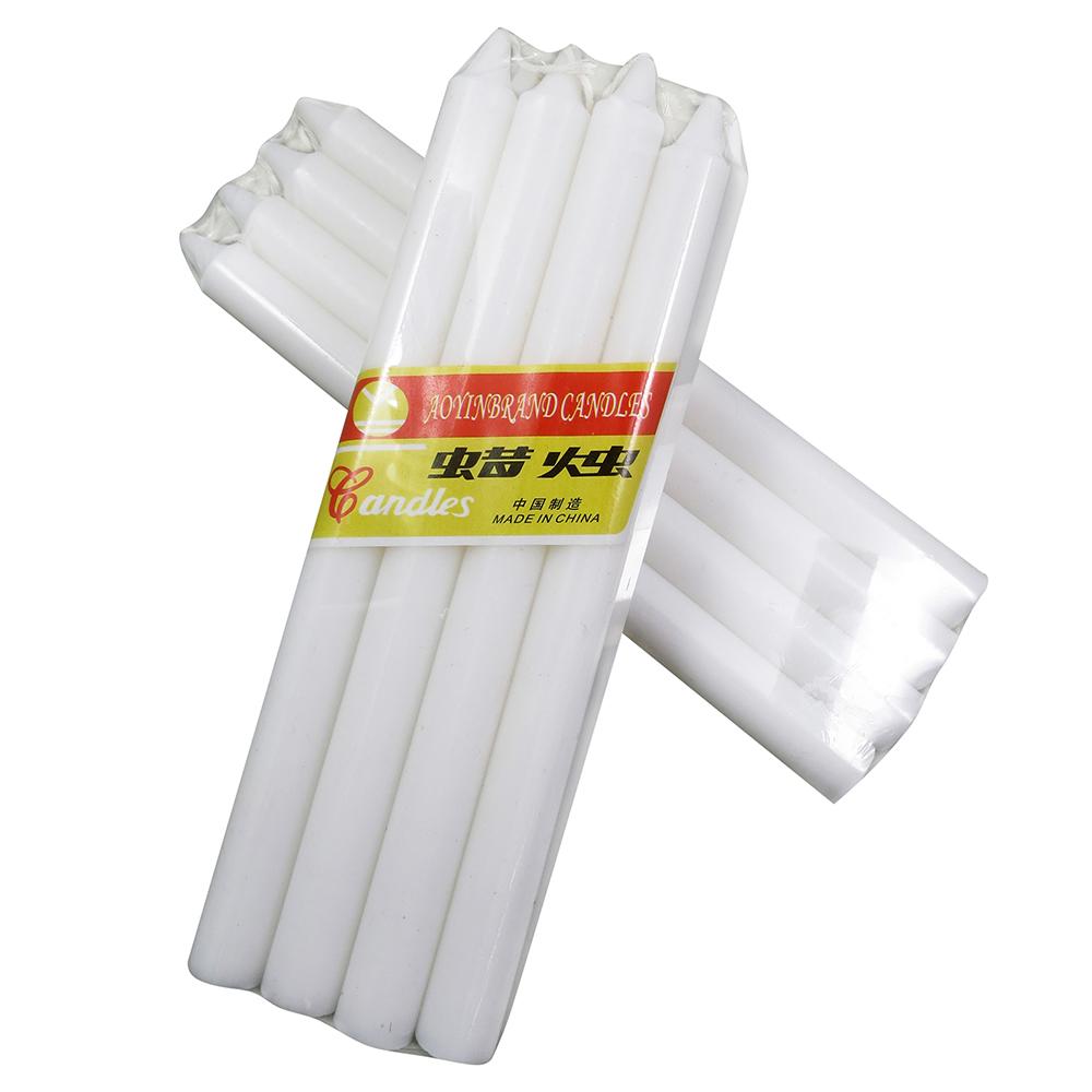 सस्ते कीमत मोम घरेलू सफेद छड़ी मोमबत्ती के लिए बिक्री