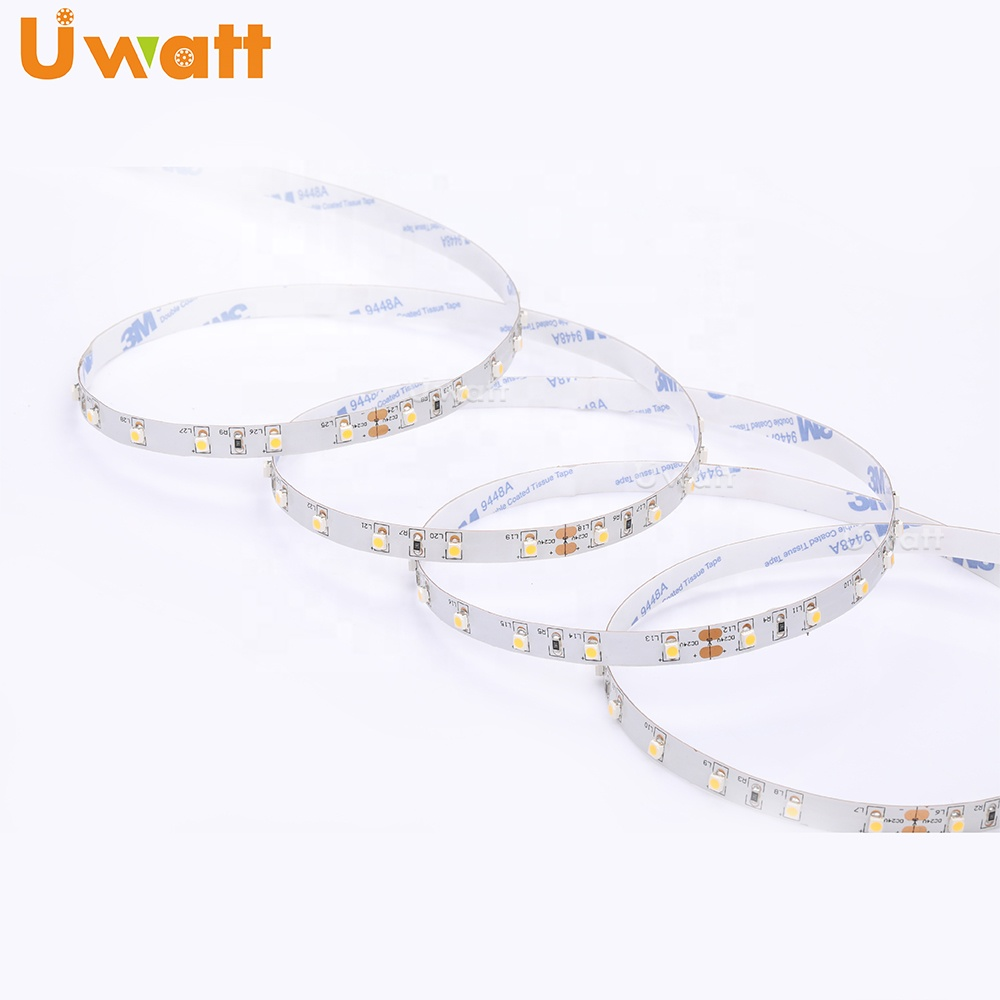Factory Price Highly Reliable CE ROHS Listed DC 12V 24V 4.8W 60LED/m SMD 3528 LED Strip instead 2835