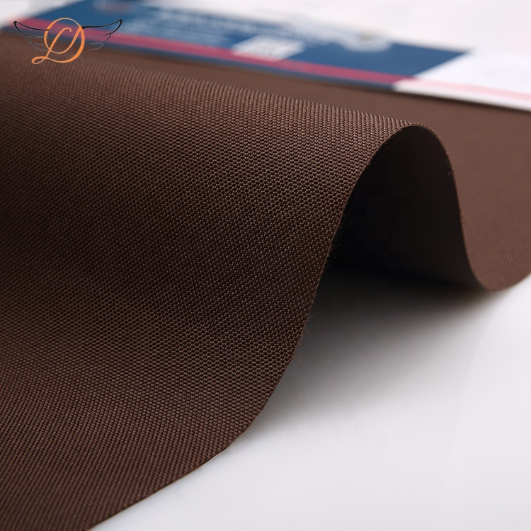 Venta al por mayor de la fábrica mejores impermeable de la tela de oxford 500D * 400D tela al aire libre para el material de la bolsa 6706