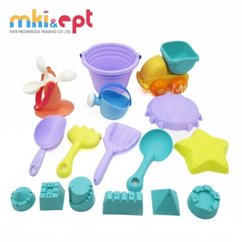 Kids Castle Molds Toy Summer TPE Sand Toy Set For sale
