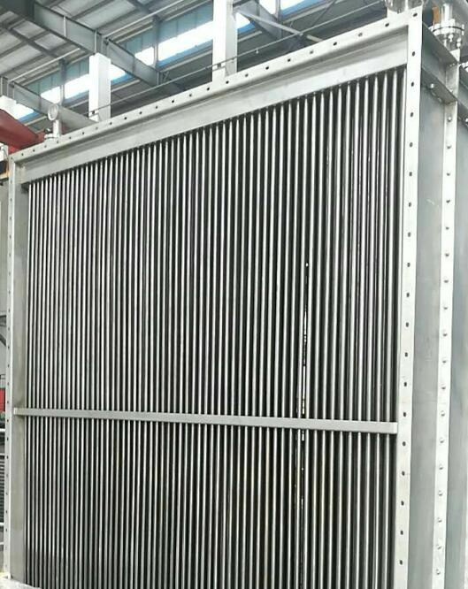 glycol heat exchanger industrial with aluminum Cooling fins or steel fins