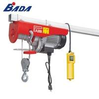 BADA PA800B 880/1760lb Capacity mini electric wire rope hoist price
