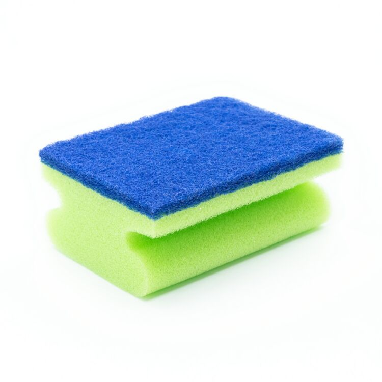 Wholesale cheap price kitchen cleaning green scrubbing pad sponge