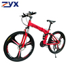 Red mountainbike