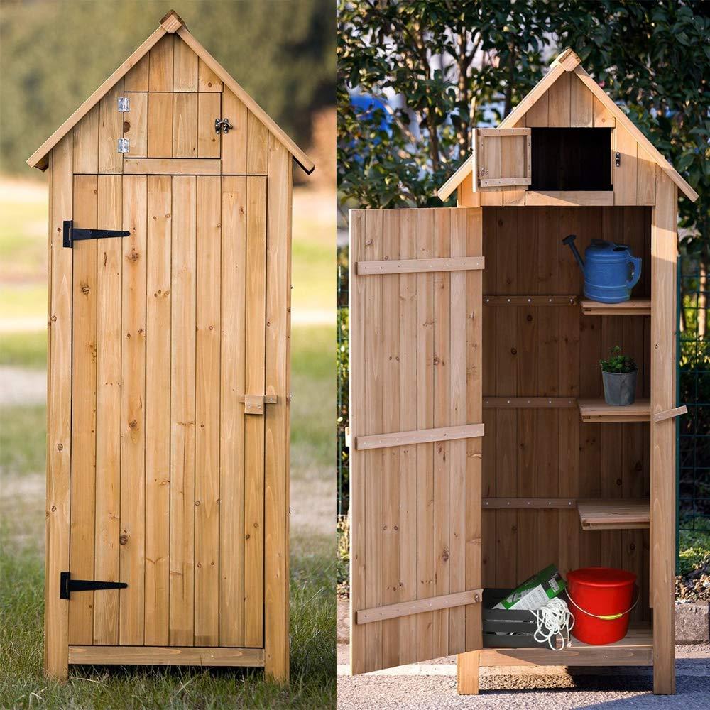 Arrow Wooden Garden Storage Shed