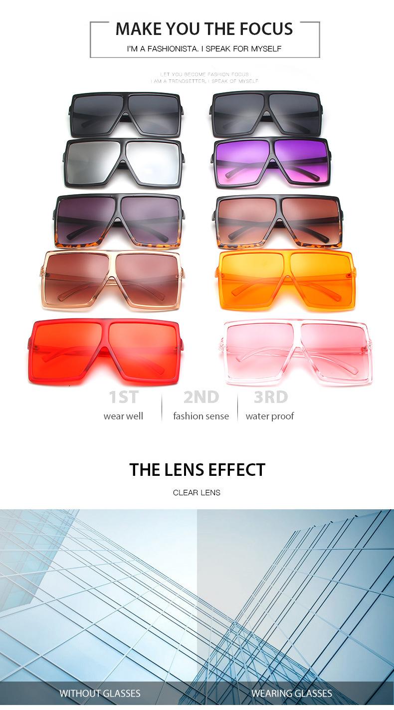 Kính Râm Màu Nâu Quá Khổ 2020 Phụ Nữ Retro Kính Râm Cổ Điển Thương Hiệu Sang Trọng Kính Mắt Không Vành Oculos De Sol Feminino Big Shades