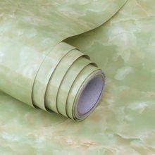 Мраморная самоклеющаяся настенная бумага для удаления кожуры и палочки Съемная контактная бумага для кухонных столешниц ванная комната го...(Китай)