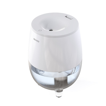Wholesale portable led light lamp office mini atomization humidifier diffuser