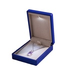 2020 hot sale LED display jewelry package box pendant box 7 x 9 x 3.5cm