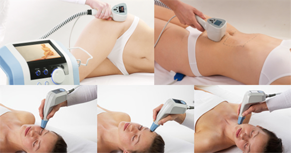 high frequency high power monopolar rf CET RET body slimming machine