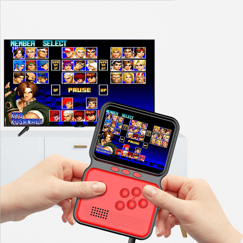 Hot Sale 3.5 Inch 16 Bit Video Game Player Built-in 900 Games Retro Handheld Game Console for Children