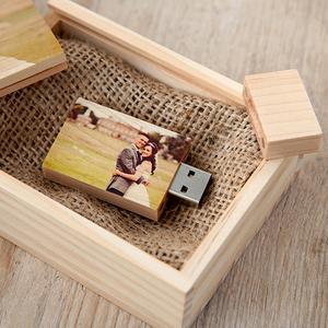 Custom Wooden Usb Flash Drive, Pendrive Wood Usb Stick With Engraving Logo 16GB