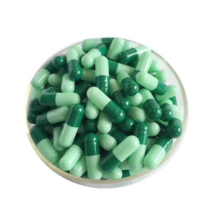 Atacado Tamanho 00 0 #1 #2 #3 #4 # Vazio Cápsulas Duras de Gelatina para pill
