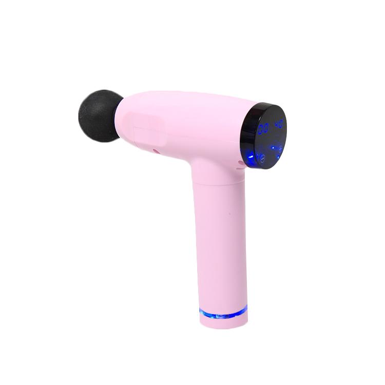 Tissue Theragun 6 heads Deep Cordless Digital Mini Muscle Vibration massager Massage Gun