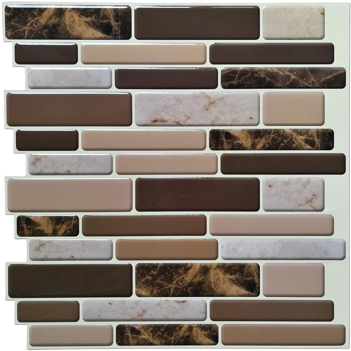 Bathroom Design Mosaic Tile paper Kitchen Tiles Pieces 3D Wallpaper for House decoration