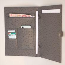 XMESSUN солидный А4 большая емкость Сумка для документов деловой короткий чехол для хранения файлов папка чехол для бумаг 13 дюймов Ipad ноутбук(Китай)
