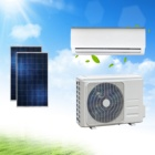 CB CE Certified Solar Air Conditioner Hybrid 9000btu to 48000btu For solar distributors with 5 years warranty