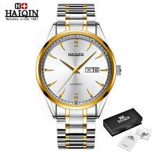 Часы HAIQIN мужские, армейские, спортивные, механические, полностью стальные, водонепроницаемые, 2020(Китай)