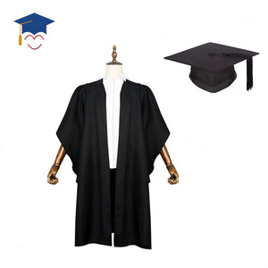 UK style graduation robe bachelor gown