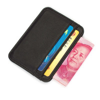Mini Slim Credit Card Wallet Men Women Purse Card Holder Credit Card Bag ID Passport Coin Wallet