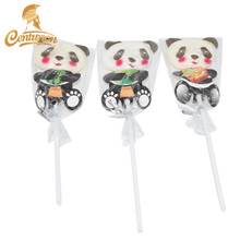 Bella Cinese Panda Lollipop <span class=keywords><strong>Dolce</strong></span> <span class=keywords><strong>Animale</strong></span> Forme Hard Candy