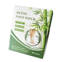 100% real herbal 2 in 1 foot patch detox foot pad