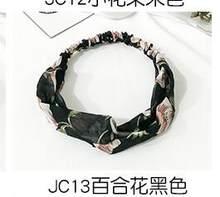 Женские ленты для волос в стиле бохо, винтажные повязки на голову с принтом в виде тюрбана, банданы, аксессуары для волос, 2020(Китай)