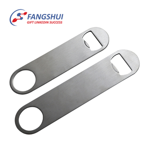 Flat plain blank metal bottle openers sublimation stainless steel customized beer bottle opener