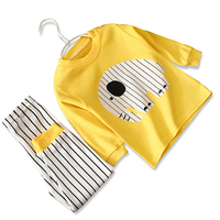 100% Cotton Kids Pajamas Boys Fashion children Sleepwear Girls Nightwear Baby Infant Clothes Factory Price Hot sale products