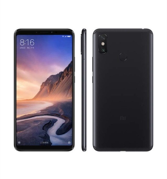 International version Xiaomi Mi Max 3 Max3 6.9&quot; smartphone 6GB 128GB celular <strong>android</strong> <strong>phone</strong> with 5500mAh big battery