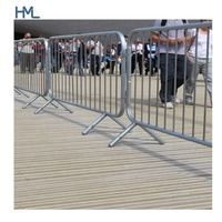 Factory price galvanized steel tube traffic safety crowd control construction barrier