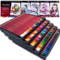 Professional Artist Level Best Quality 24/120colors Wooden Colored Pencil