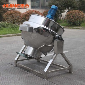 50 Liter Stainless Steel Sugar Mixer Cooking Pot
