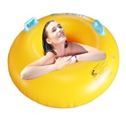 PVC 1.0mm aqua park swimming ring pool vison inflatable party toys air transparent tube Beach