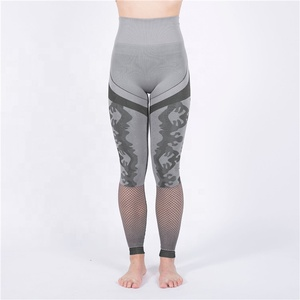 Best selling new female sports fitness high waist tight running leggings yoga pants