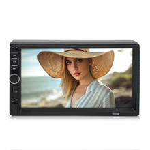 Wholesale Universal 7 Inch Sentuh Layar Mobil MP5 Player Double Din MP5 Mobil <span class=keywords><strong>Dvd</strong></span> Player dengan Bluetooth Mobil Radio 7018b