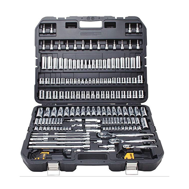 192pc 1/4, 3/8, 1/2 in. other Vehicle Tools hand werkzeug auto Mechanics tool sets and socket sets