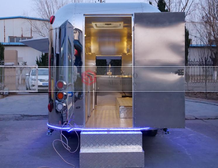 Coffee Cart Airstream Mobile Shop Deep Fryer Food Trailer