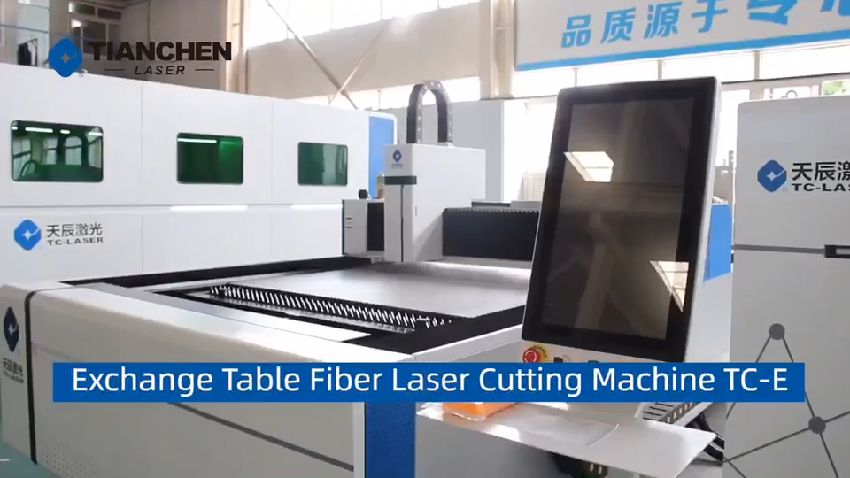 Hot sales jinan 1000w with exchange table fiber laser metal cutting machine carbon steel