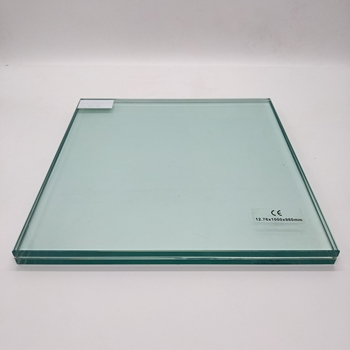 Factory Tempered laminated glass construction max size security ultra clear laminated glass for commercial building